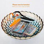 """[2 Pack] Housse Protection Pochette Coque Étanche Universelle - up to 5.5"""" (Noir+Orange) de la marque FITFORT image 3 produit"""
