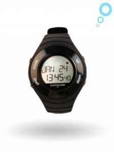 2016 Swimovate PoolMate HR Rechargable Swim Watch in BLACK de la marque Swimovate image 0 produit