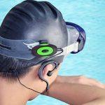 4Go Lecteur MP3étanche et clip pour écouteurs intra-auriculaires avec support intégré–Entièrement Submersible IPX8–Idéal pour la natation, l'eau d'exercice, ski et plus de la marque image 4 produit