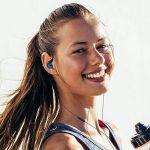 Adorer Écouteurs Sport RX6 anti-bruit intra-auriculaires avec Microphone, casque anti-transpiration pour iPhone, iPad, Samsung, LG, Huawei, Lecteurs MP3 - Bleu de la marque image 4 produit