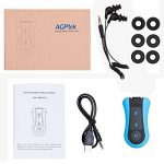 AGPTEK S12E Lecteur Mp3 Etanche, Version nouvelle Mp3 Waterproof 8Go IPX8 pour Natation(piscine) et Sports, Bleu de la marque image 6 produit