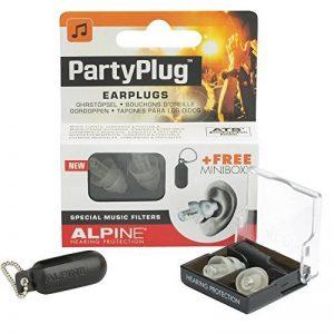 Alpine PartyPlug 2015 Bouchon d'oreilles pour Concert/Sortie Transparent de la marque image 0 produit