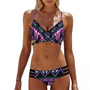 Angelof Maillot de Bain Imprimé Femme Bikini Boheme Haut & Bas de Maillot Maillot de Bain à Deux Pièces Ado Fille de la marque Angelof image 0 produit