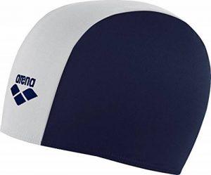 Arena JR 91149 Bonnet de bain/douche en polyester pour enfant Bleu marine/blanc de la marque image 0 produit