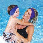 Bandeau d'oreille de natation de Sunbeter protégeant l'oreille de bandeau pour l'enfant et l'adulte-docteur recommandé de garder l'eau dehors et les bouchons d'oreille de la marque image 1 produit