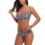 Bikini Maillots de Bain, Malloom Femme Ensemble Plage Taille Basse Push-Up de la marque Malloom®_Plage image 2 produit
