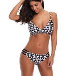 Bikini Maillots de Bain, Malloom Femme Ensemble Plage Taille Basse Push-Up de la marque Malloom®_Plage image 3 produit