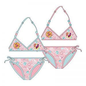 Bikini SOY LUNA Disney Maillot de bain 2 pièces SOY LUNA 2018 rose/bleu 6/8/10 ans de la marque soyluna image 0 produit