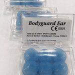 BODYGUARD EAR Protection Auditive Silicone 6 Bouchons d'oreille en silicone BLEU - Lot de 3 boites de 6 Bouchons B de la marque image 1 produit