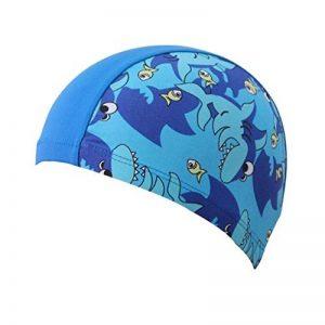 Bonnet de Bain Enfant, Bonnet de Natation pour les Soins des Cheveux et de la Protection des Oreilles de la marque Gogokids image 0 produit