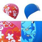 Bonnet de Bain Enfant, Bonnet de Natation pour les Soins des Cheveux et de la Protection des Oreilles de la marque Gogokids image 1 produit