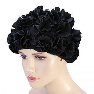 Bonnet de Bain / Natation Femmes Filles Fleurs Délicat pour Femmes à Cheveux Longs de la marque image 0 produit
