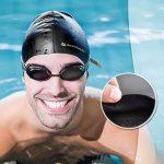 Bonnet de bain pour cheveux longs Swimtastic, spécialement conçu pour nageurs avec cheveux longs, épais ou frisés de la marque image 2 produit