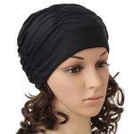 Bonnets de bain en tissu plissé pour cheveux longs TININNA Bonnet de bain Bonnets de bain pour femme de la marque image 1 produit