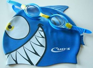 Bonnets de natation pour enfant Set Meteor Character de Head, bonnet de bain et Lunettes de natation Blue, One Size, 451022 de la marque image 0 produit