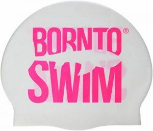 Bore NTO Swim Bonnet de bain en silicone Bonnet de natation avec imprimé Requin motifs M de la marque image 0 produit