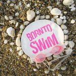 Bore NTO Swim Bonnet de bain en silicone Bonnet de natation avec imprimé Requin motifs M de la marque image 3 produit