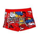 Boxer de bain enfant garçon Disney Cars Bleu et Rouge de 3 à 8ans de la marque Cars image 1 produit