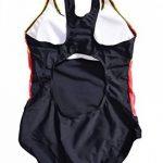 Bwiv maillot de bain 1 pièce fille multicolore maillot de natation résistent au chlore pour filles de 2 à 15 ans de la marque Bwiv image 1 produit