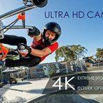 Camera d'Action Pro 4K/1080P WiFi Etanche 30M, 2 Ecrans Ultra HD 170°Caméra Sport Accessoires tous inclus pour Cyclisme Natation Plongée Ski Parachutisme Quadricoptère etc. de la marque EECOO image 3 produit