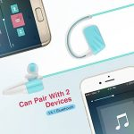 Casque Bluetooth V4.1 Écouteurs Audio Sans Fil Sport IPX7 Etanche Siroflo U2 Oreillettes Bluetooth avec Micro Casque de Sport Ecouteur de Natation Connection avec Deux équipement Pour iOS Android de la marque image 2 produit