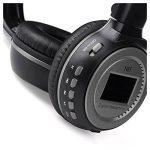 Casque de sport - Zealot Radio FM sans fil multifonction Prise en charge de carte SD Casque de musique stereo pour MP3 portable Tablet avec ecran LCD Noir + Gris de la marque image 2 produit