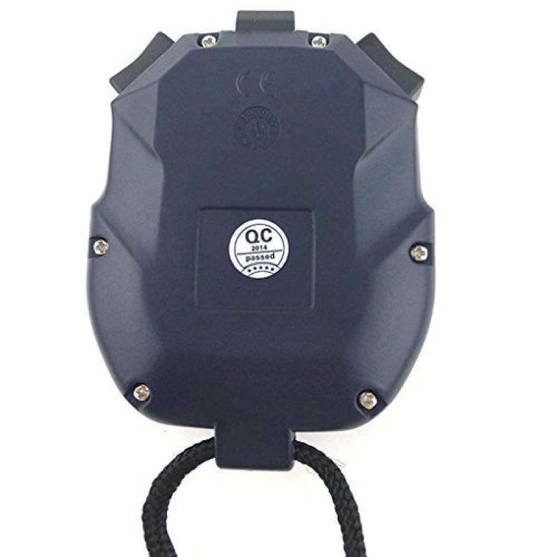 JZKR Professionnel Chronomtre Sport Numrique Minuteur 2 Lignes 10 Mmoire Compte Rebours Alarme Batterie Cordon PC2810 De La Marque