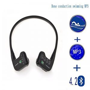 Conduction osseuse Lecteur MP3 natation senior casque étanche Bluetooth,fitness, loisirs, casque de sport en plein air de la marque image 0 produit