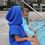 Cor pour enfant Poncho serviette peignoir bleu clair et foncé pour 3-8 ans (Bleu foncé) de la marque COR Surf image 1 produit