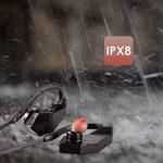 Écouteurs Bluetooth Étanches, Olycism Bluetooth 4.1 Earphone Stéréo avec Mic-intégré, IPX8 Imperméable Accessoire de Musique Running Natation Essentials [Lecteur MP3 8 Go, Clé USB, Appel Mains Libres] (NOTE : Bluetooth ne peut pas être utilisé lors de la image 3 produit