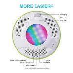 Cowin Natation étanche enceinte Bluetooth 4.0haut-parleurs sans fil portable flottant Mètre avec 10W Plus basses profondes et coloré lumière LED de la marque meidong image 3 produit