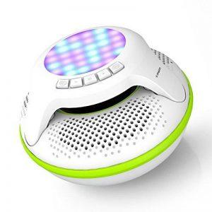 Cowin Natation étanche enceinte Bluetooth 4.0haut-parleurs sans fil portable flottant Mètre avec 10W Plus basses profondes et coloré lumière LED de la marque meidong image 0 produit