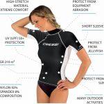 Cressi Rashguard Femme Haute de combinaison en tissu très élastique spéciale - Manches Longues et Courtes - Protection Solaire UV (UPF) 50+ de la marque Cressi image 1 produit