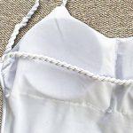 DAY8 Maillot De Bain Femme 1 Pieces Push Up Grande Taille Natation Amincissant Vintage Bikini Bandeau Trikini Femme Fashion Tankini Swimwear Fille Bandage Ete Femme Vetement Pas Cher de la marque DAY8 image 6 produit