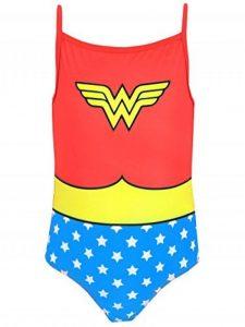 DC Comics Wonder Woman - Maillots une pièce - Wonder Woman - Fille de la marque Wonder Woman image 0 produit