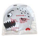 Dianoo enfants imperméable cache-oreilles bonnet de bain avec haute qualité silicone dessin animé modèle la natation casquette enfants bonnet de bain de la marque image 3 produit