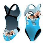 diapolo Swimmer'Super Heroes Maillot de bain Comics Collection pour nager natation synchronisée Eau Ball thriathlon de la marque Diapolo image 1 produit
