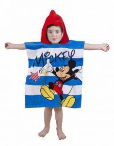 disney Mickey Mouse Star capuche serviette Poncho de la marque Disney image 0 produit