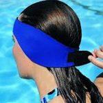 Earband Swimming Headband Neoprene Bandeau de natation - protection auditive bandeau d'oreilles enfants (Bleu, M) de la marque image 1 produit