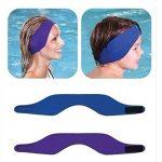 Earband Swimming Headband Neoprene Bandeau de natation - protection auditive bandeau d'oreilles enfants (Bleu, M) de la marque image 3 produit