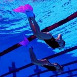 Enfant Filles Queues de sirène Swimmable Maillots de bain Ensembles avec Monopalme de la marque 3STEAM image 2 produit