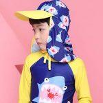 Enfants Casquette Sun Chapeaux Bonnet - Garçons Bonnet de Natation Filles Protection Solaire UV Chapeau Bonnet de Bain Seau réglable de la marque image 1 produit