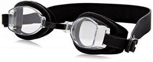 Exeze Silicon Lunettes de Piscine noir - Bandeau 21mm de large - pour Exeze lecteurs MP3 étanches de la marque image 0 produit