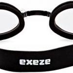 Exeze Silicon Lunettes de Piscine noir - Bandeau 21mm de large - pour Exeze lecteurs MP3 étanches de la marque image 1 produit