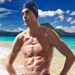 Fecihor Bonnet de natation pour adulte Bonnet de bain en fibre en coton pour hommes et femmes Flexible étanche Résistant à l'humidité Hat pour cheveux longs de la marque image 3 produit