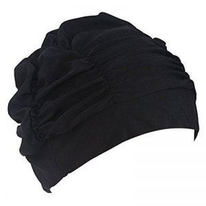 Femmes Filles Plissé Tissu Doux Tissu Bonnet / Casquette / Turban Bonnet de bain Bel Chapeau pour Dreadlocks Long Cheveux Eté / Mer / Piscine Fun Play de la marque image 0 produit