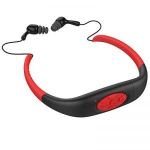 FM Casque étanche MP3,vanpower Waterproof Sport Stereo MP3 Player with FM Radio for Swimming Surfing de la marque image 0 produit