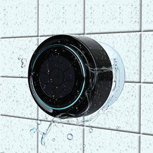 Haut-parleur de douche Bluetooth - imperméable à l'eau et à la poussière - CE / ROHS / FCC Certifié haut-parleur sans fil paires à tous les appareils Bluetooth Samsung iPhone iPad iPod PC de la marque image 0 produit
