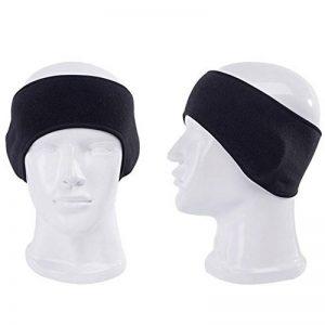 hugestore Unisexe Homme Femme Hiver 383614Bandeau polaire chaude cache-oreilles Cache-oreilles Protection Oreille noir de la marque image 0 produit