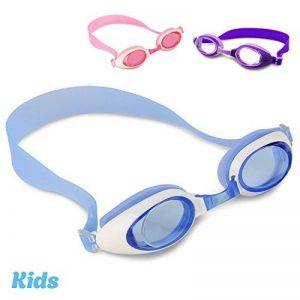 i-swim Pro Kids Swim Lunettes de natation et bonnet de bain, conçu spécialement pour les enfants avec longue durée de vie garantie, étanche, facile Sangles réglables et confortable de la marque image 0 produit